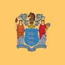 New Jersey state USA stickers