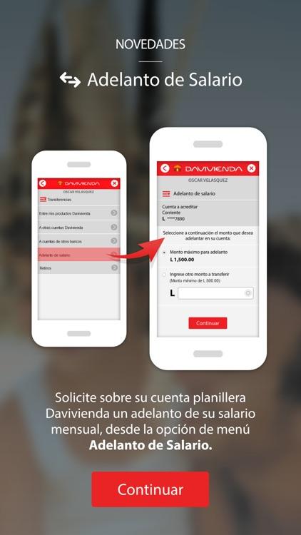 Davivienda Honduras screenshot-5