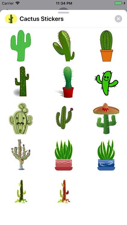 Lotsa Cactus Stickers screenshot-0
