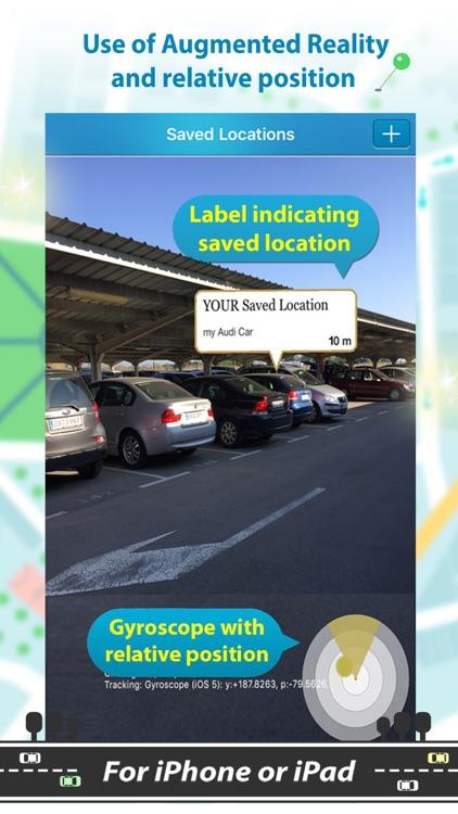 Find My Car with AR Tracker screenshot-8