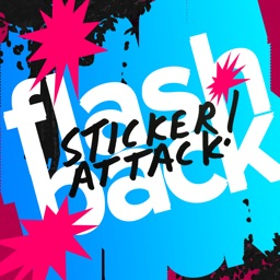 Flashback Sticker Attack!