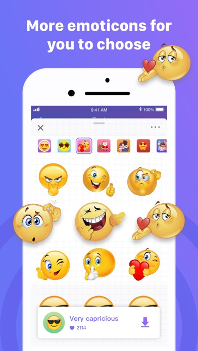 messages.download Fun chart stickers software
