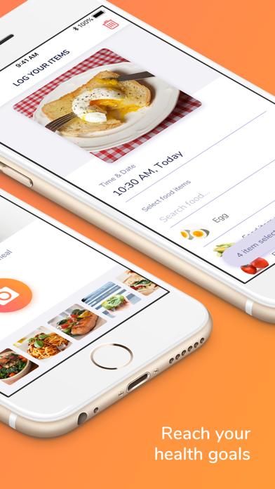 FoodPrint™ - Nutrition Trackerのおすすめ画像3