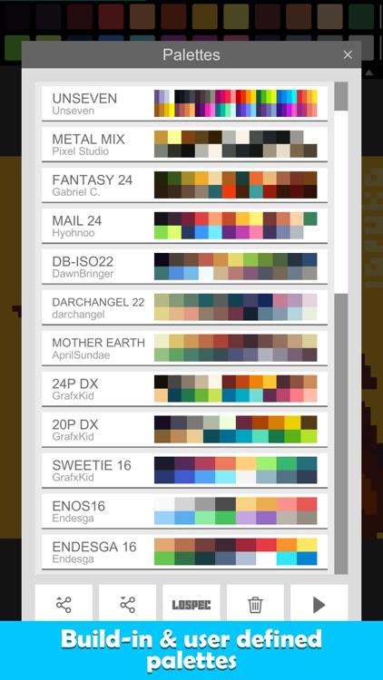 Pixel Studio PRO for pixel art screenshot-9