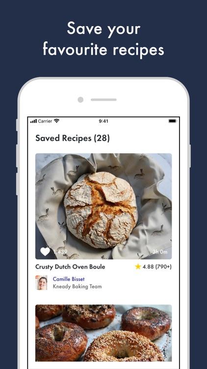 Kneady: Bread Recipes & Baking screenshot-4