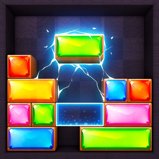 Jewel Blast  Block Drop Puzzle app for ipad