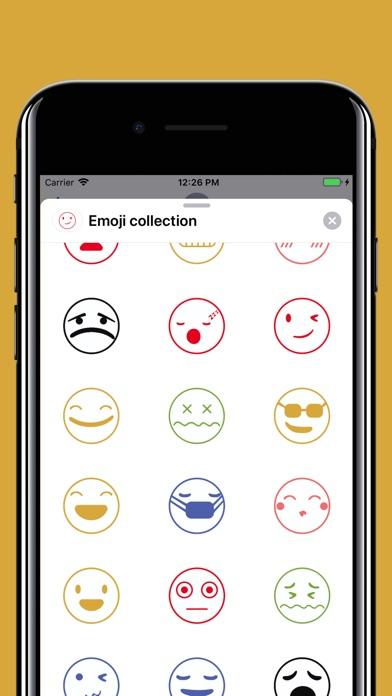 Funny smiley emojis stickers screenshot 3