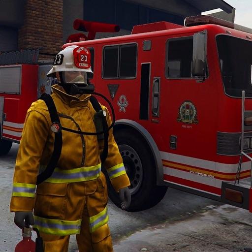 симулятор пожарной машины 2021