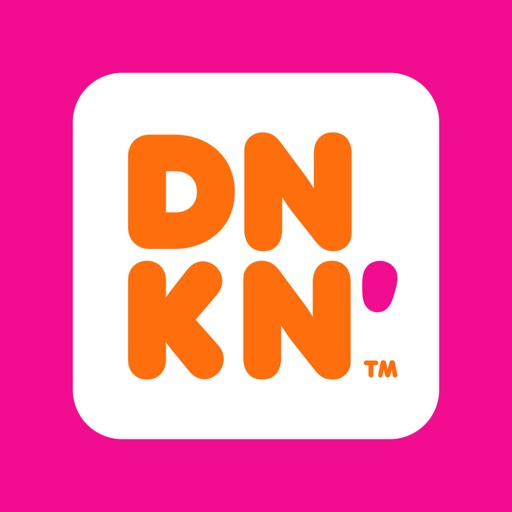 Dunkin' free software for iPhone and iPad