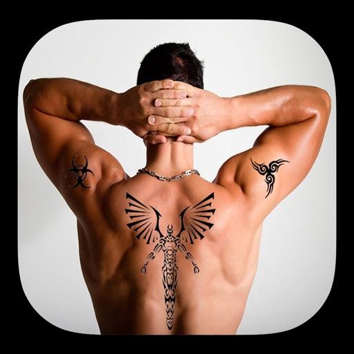Tattoo stickers photo editor iOS App