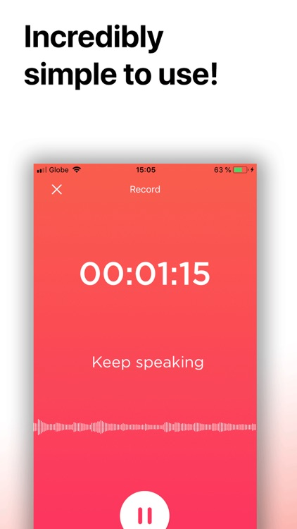 Transcribe: Voice to Text