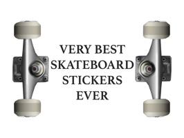The Best Skateboard Stickers
