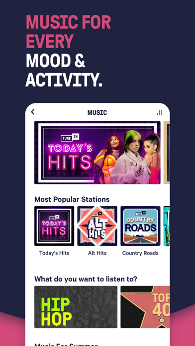 TuneIn Radio: News & Podcasts Screenshot