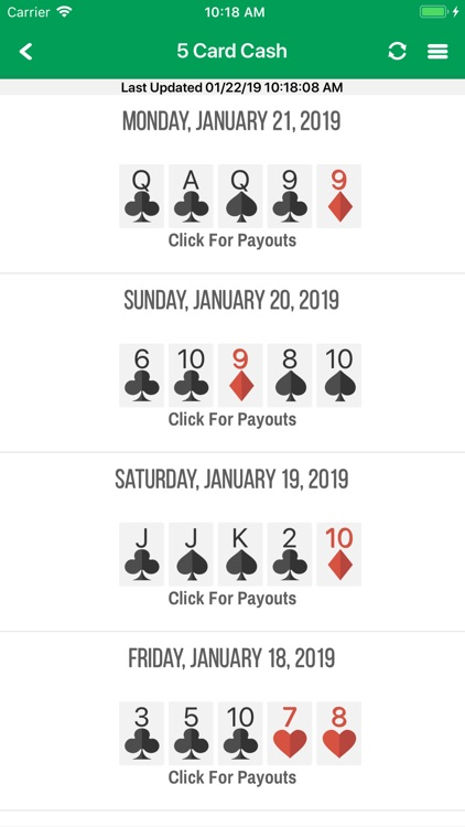 All Lottery Results by Hit Posters LLC