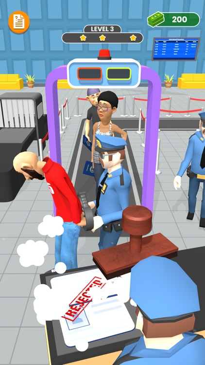 Airport Scanner 3D