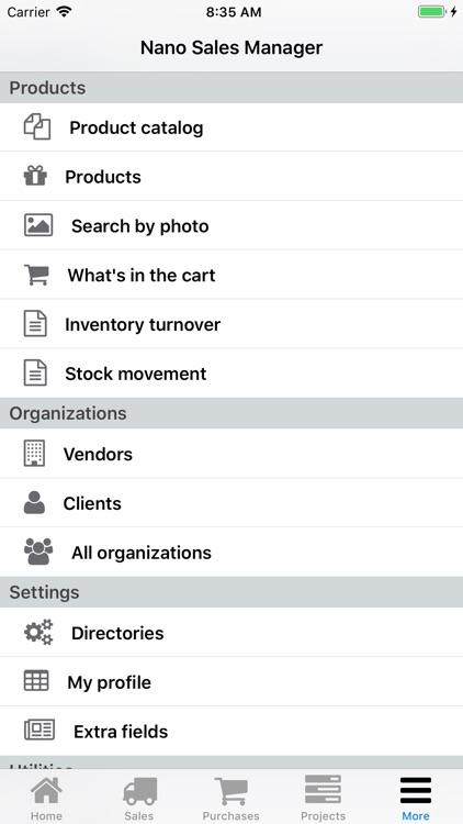Nano Sales Manager screenshot-9