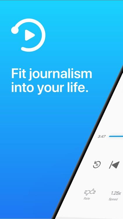 Noa: Journalism, narrated.