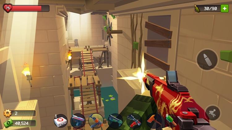 Pixel Combat: Zombie Games 3-D screenshot-5