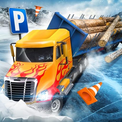 Ice Road Trucker Parking Simulator 2 АвтомобильГонки ИгрыБесплатно