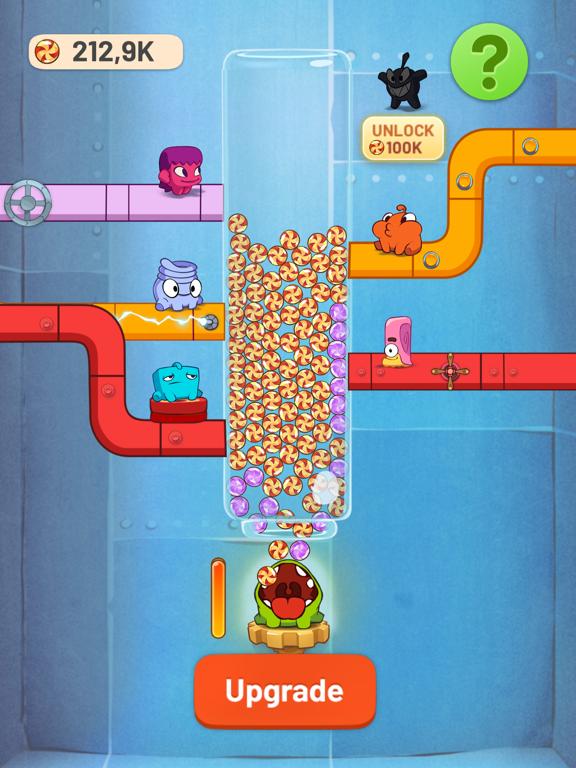Om Nom Idle Candy Factory screenshot 6