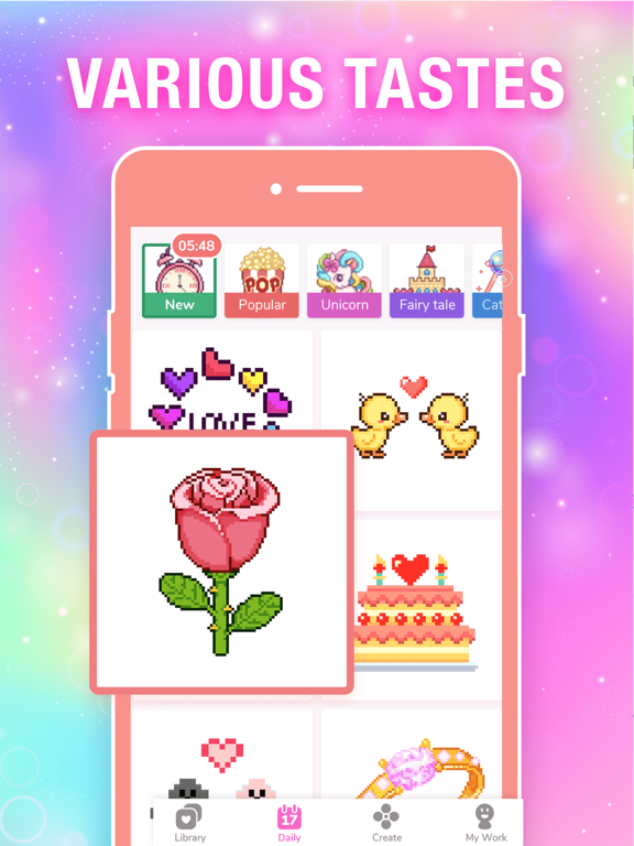 Color by Number Pixel Drawing screenshot 15