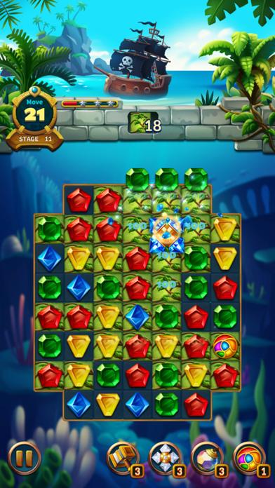 Jewels Fantasy Legend - Match3Captura de pantalla de9