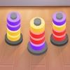 カラーフープ - スタックカラーパズルゲーム 3D - iPadアプリ