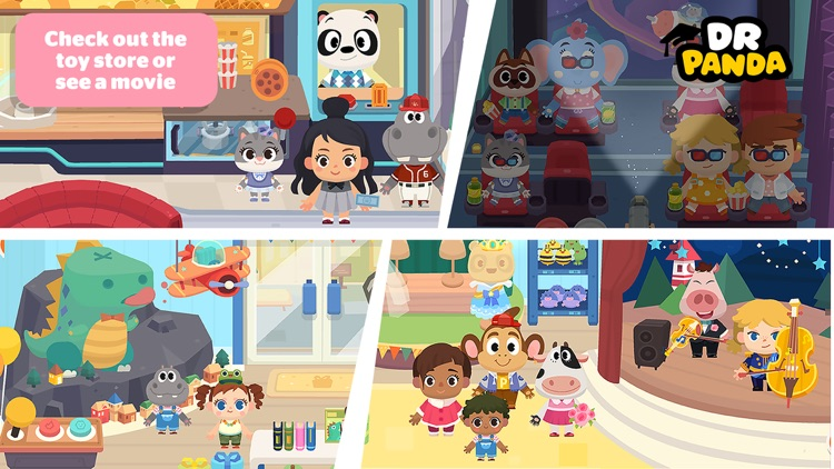Dr. Panda Town: Mall screenshot-5