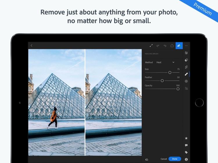 Adobe Lightroom CC for iPad screenshot-3