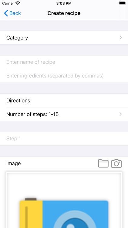 My Best Recipe. screenshot-8