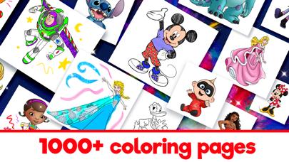 Disney Coloring World Screenshot
