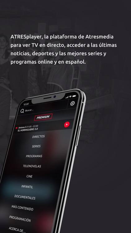 ATRESplayer. Series y Noticias