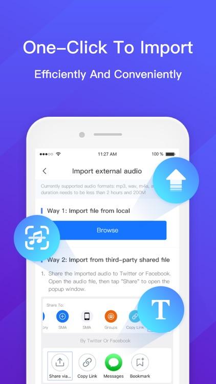 Audio to Text - Voice Recorder