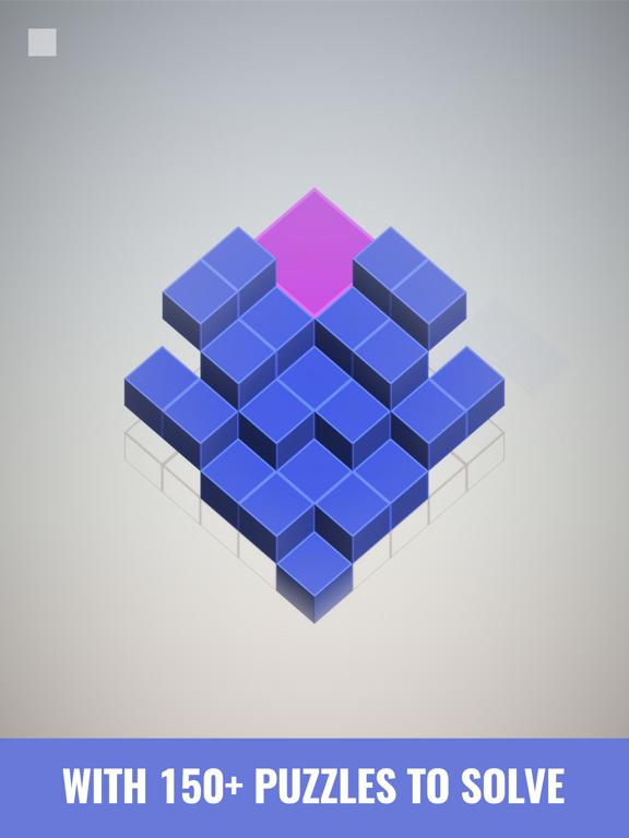 Isometric Squares - puzzle ²のおすすめ画像7