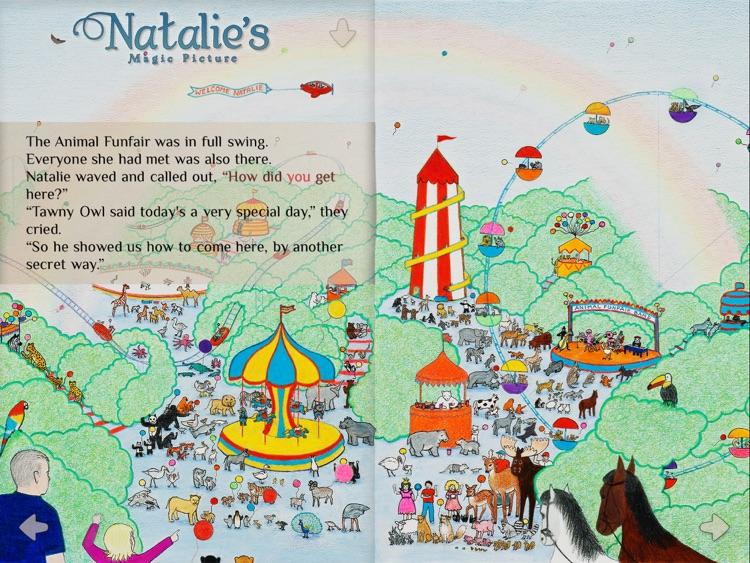 Natalie's Magic Picture screenshot-3