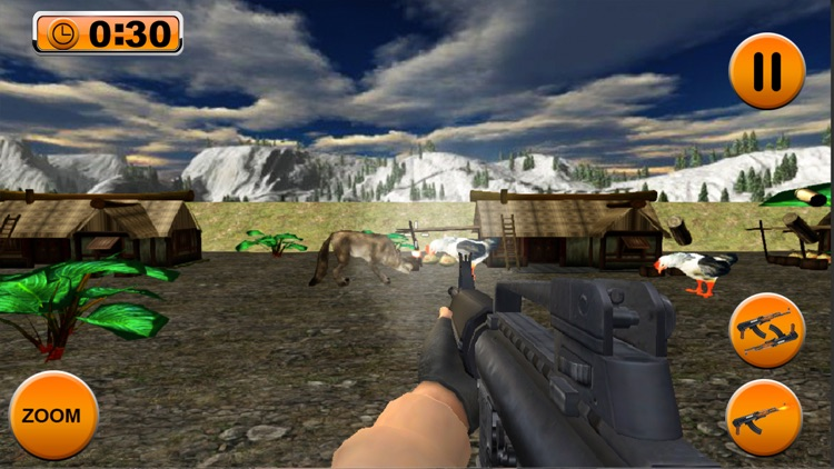 Frenzy Chicken Shooter Game 3D