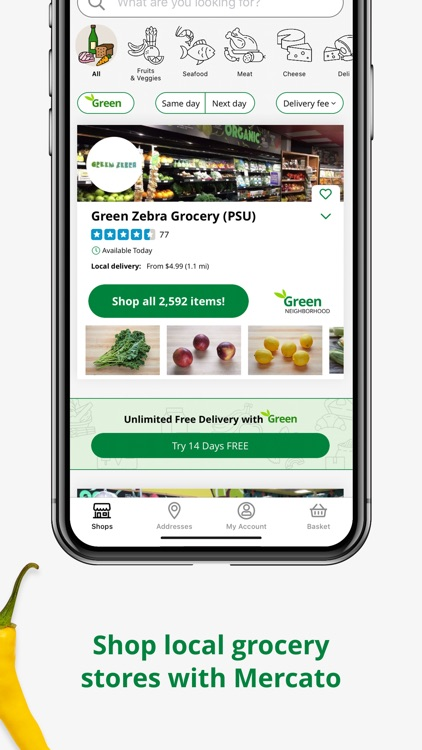 Mercato: Grocery Delivery