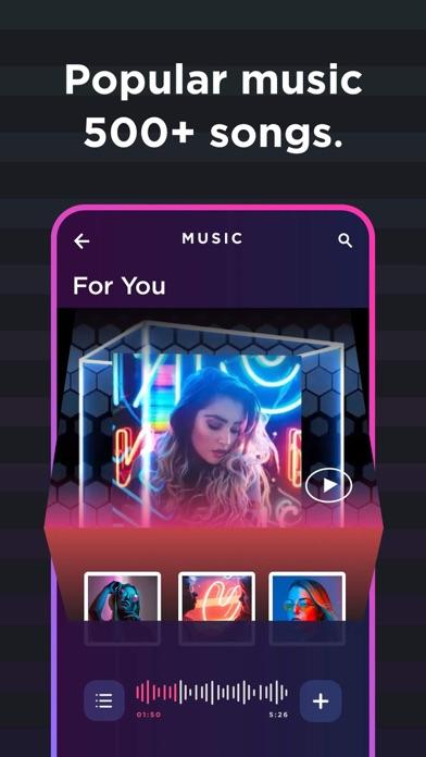 Vinkle - Music Video Maker Screenshot