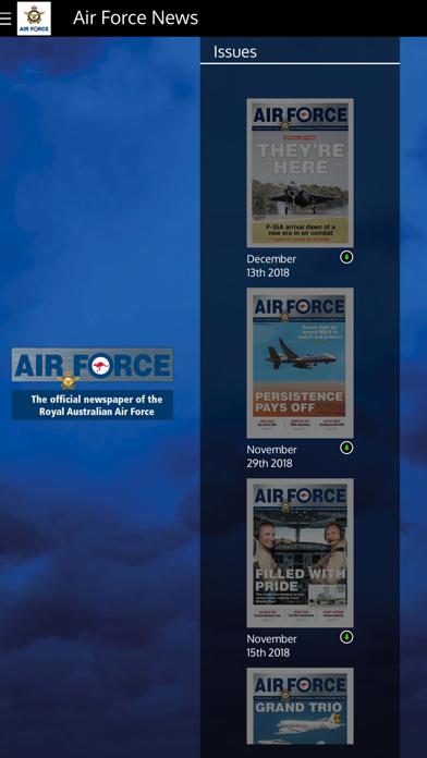 Air Force News Australia screenshot one