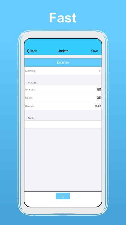 uBudget: Finance Planner screenshot-3