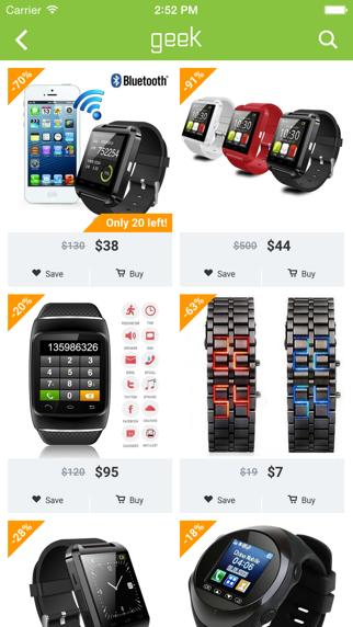 Herunterladen Geek - Smarteres Shopping für Pc