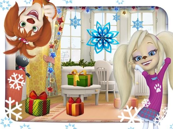 Барбоскины: Вырезаем снежинки для iPad