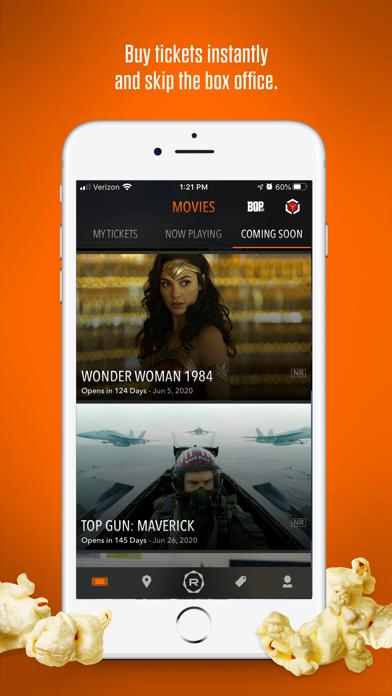 Regal Cinemas screenshot