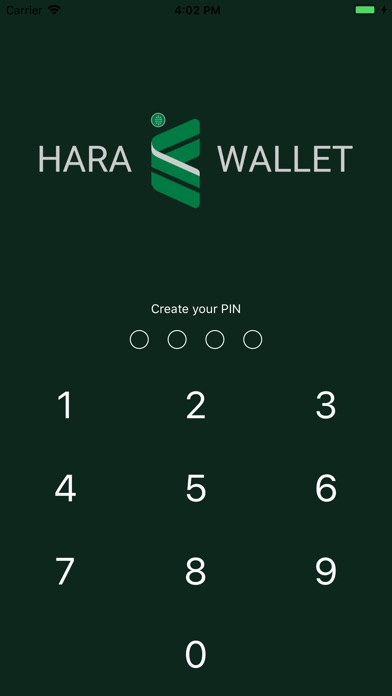 Screenshot for HARA WALLET in United States App Store