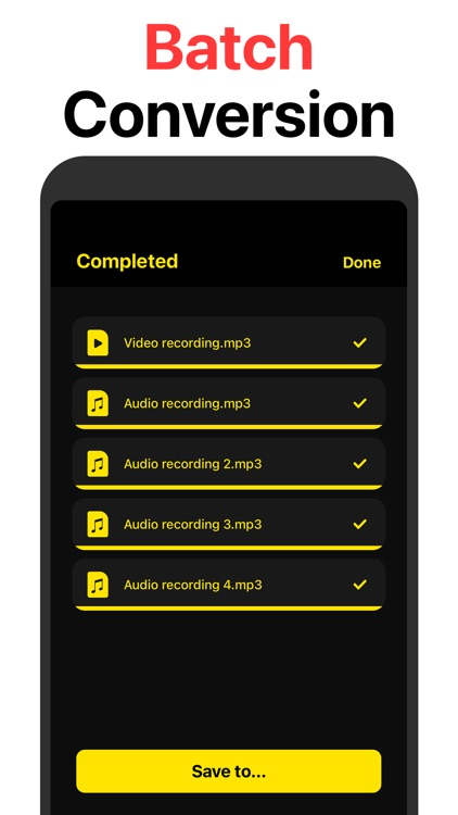 MP3 Converter: Audio converter screenshot-3