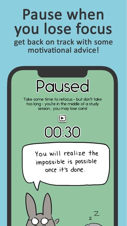 Study Bunny: Focus Timer screenshot-5
