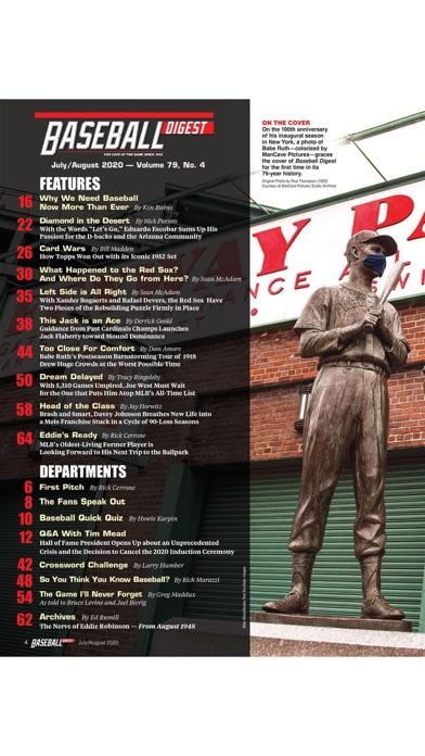 Baseball Digest Magazineのおすすめ画像1
