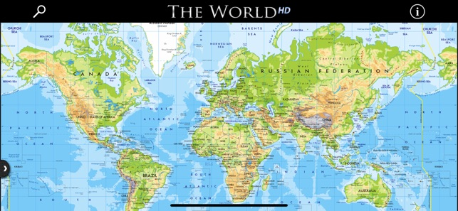Hd Map Of The World.The World Hd