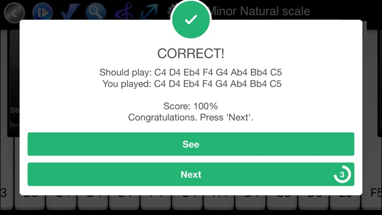 Piano Scales & Chords Pro screenshot-1