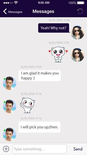 Prompt, mature chat flirt